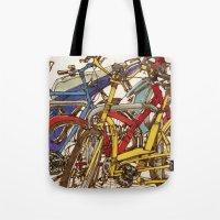Bike Mess Tote Bag