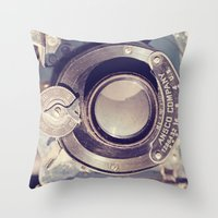 Vintage Findings Throw Pillow