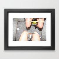 Ladies Room Framed Art Print