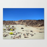 sulfur Canvas Print