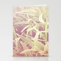 furry grass Stationery Cards