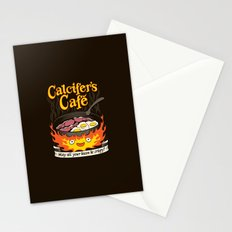 Calcifer's Cafe Stationery Cards