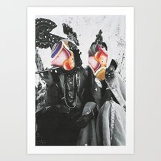 Modern Romantics Art Print