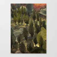 The hill. Canvas Print