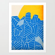 - be nuclear - Art Print