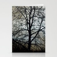 Winter Sky II Stationery Cards