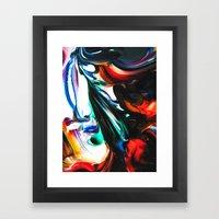 fixed fluidity Framed Art Print