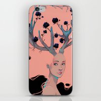 Lady Cornue. iPhone & iPod Skin