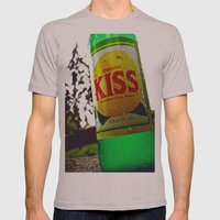 Kiss Soda Mens Fitted Tee Cinder SMALL