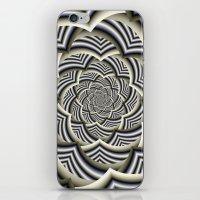 Curved Chevron Spiral iPhone & iPod Skin