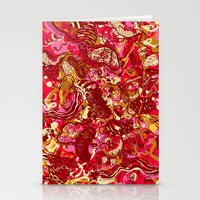 Red Hot Day Species Stationery Cards