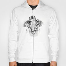I'm too SASSY for my hat! Vintage Elephant. Hoody