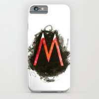 iPhone & iPod Case featuring The M by Margret Aurin
