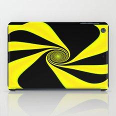 Abstract. Yellow+Black. iPad Case