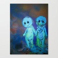 Lil Sprites Canvas Print
