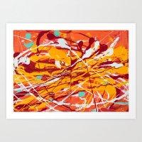 Mango Tango Art Print