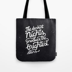 Darkest Nights Tote Bag