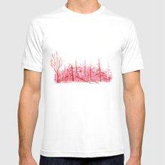 Sanguine Copse Mens Fitted Tee White SMALL
