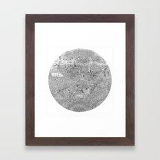 A Single Note Framed Art Print