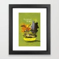 The Fellowship of the Ring Framed Art Print