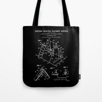 Playground Patent - Black Tote Bag