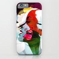 kiss iPhone & iPod Cases featuring Kiss by Alvaro Tapia Hidalgo