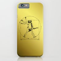 leonardo guitar iPhone 6 Slim Case