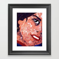 Roberta - Detail Framed Art Print