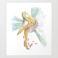 Coy Gams Art Print