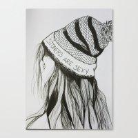 Stoners Canvas Print
