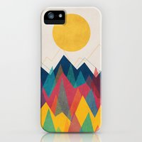 iPhone 5s & iPhone 5 Cases featuring Uphill Battle by Budi Kwan