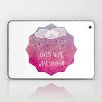 lovers alone wear sunlight Laptop & iPad Skin