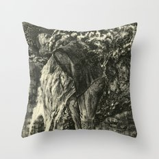 Back to Dust Throw Pillow