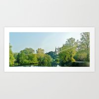 Ireland: Sunbeam  Art Print