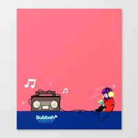 Rocking Out Canvas Print