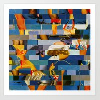 Shiver Me Ikea Timbers (… Art Print