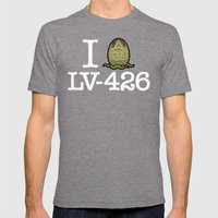 I Love LV-426 Mens Fitted Tee Tri-Grey SMALL