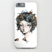 The Moth Girl iPhone 6 Slim Case