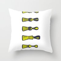 Clean-Shaven Throw Pillow