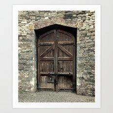 Kilmainham Gaol Door Art Print