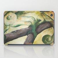 Chameleon Painting iPad Case