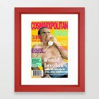 COSMARXPOLITAN, Issue 10 Framed Art Print