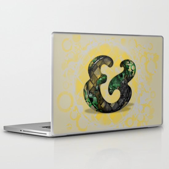 Ampersand Series - Cooper Std Typeface Laptop & iPad Skin