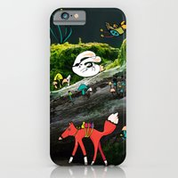 iPhone & iPod Case featuring Forest life by ChiLi_biRó