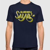 I'll Just Have a Salad Mens Fitted Tee Navy SMALL