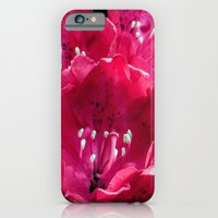 Red Azalia iPhone 6 Slim Case