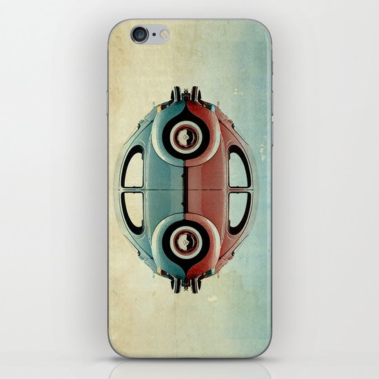 4 speed - VW beetle   iPhone & iPod Skin