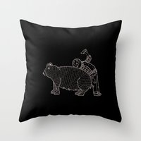 The Known Practice Of Us… Throw Pillow