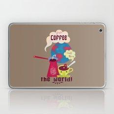 First Coffee Laptop & iPad Skin