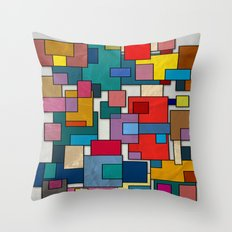 Abstract #317 Throw Pillow